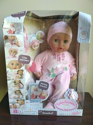 """New Baby Annabell Green Eyes 17"""" 43cm Doll( Dented Box) By ..."""