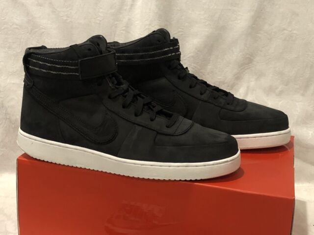 95e196d79421 New Men s 10.5 Nike Vandal High Premium John Elliott Black White AR8861-001