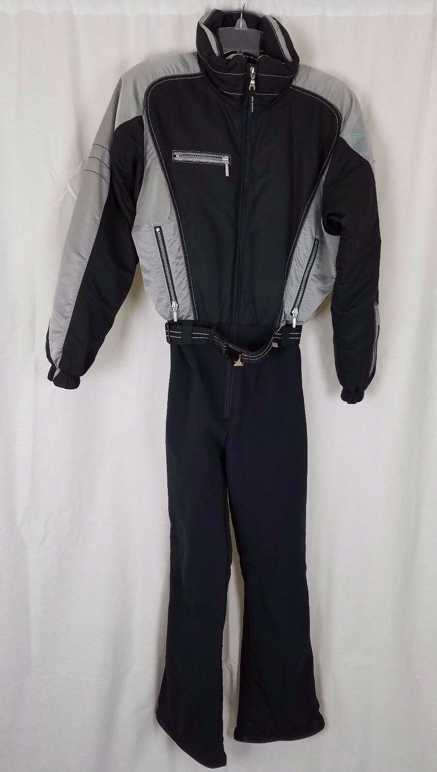 Vintage 90s Nils Abbigliamento da Sci Isolato Intero Sciistica Invernale Tuta