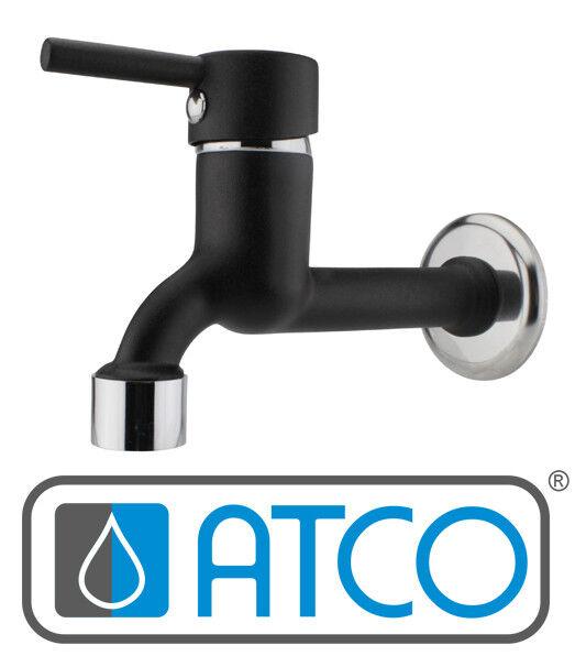 ATCO NINO schwarz Kaltwasserarmatur Wandarmatur Wandventil Waschtischarmatur | Spielzeugwelt, spielen Sie Ihre eigene Welt  | Mittlere Kosten  | Moderate Kosten  | Qualität Produkt