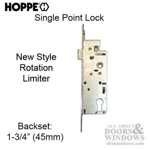 Image is loading Hoppe-Mortise-Lock-45-92-Single-Point-Lock-  sc 1 st  eBay : door limiter hardware - pezcame.com