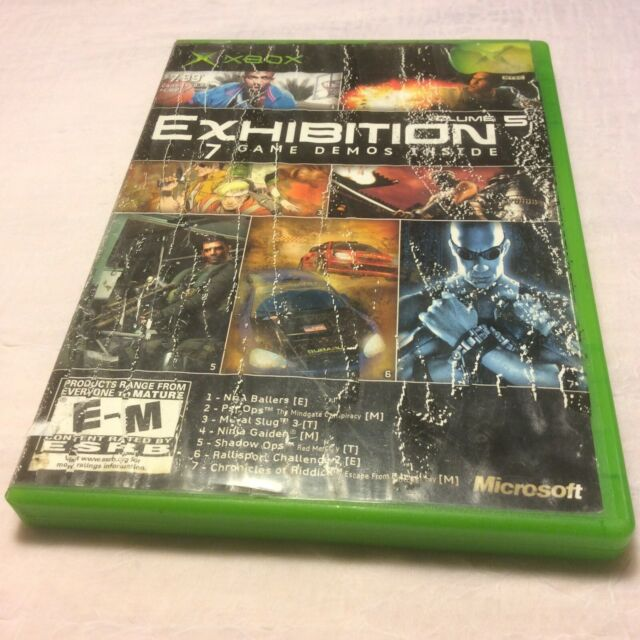 Exhibition: Demo Disc for Xbox Vol. 5 CIB (Microsoft Xbox, 2004) Free Shipping