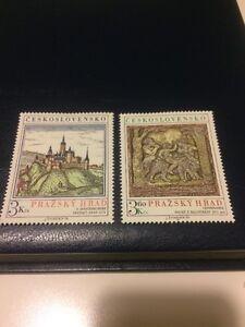 czechoslovakia stamps MNH 1976 Prague Castle - LONDON, London, United Kingdom - czechoslovakia stamps MNH 1976 Prague Castle - LONDON, London, United Kingdom