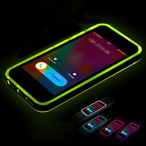 Call Led Light Up Case For Iphone X Xr Xs Max Se 5 S 5s Flash Soft Silicone Back Cover Case For Iphone 7 8 6 S 6s Plus Cases Factories And Mines Fitted Cases