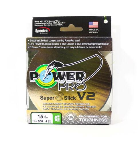 7892 Power Pro Super 8 Slick Version 2 Spectra Line 15lb by 300yds Aqua