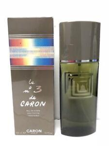 Le-3-Homme-de-Caron-3-3-oz-100ml-Eau-de-Toilette-Spray-for-Men-Vintage