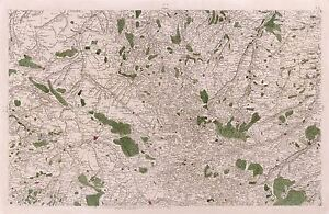 MAP-CASSINI-FRANCE-18TH-CENTURY-LOWER-NORMANDY-REPLICA-POSTER-PRINT-PAM0786