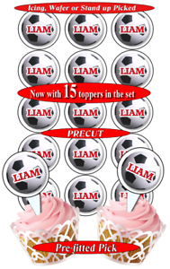 Cake Toppers Liverpool Fc Personalised Edible Icing Birthday Cake Topper 8 Cupcake Toppers Home Furniture Diy Tallergrafico Com Uy