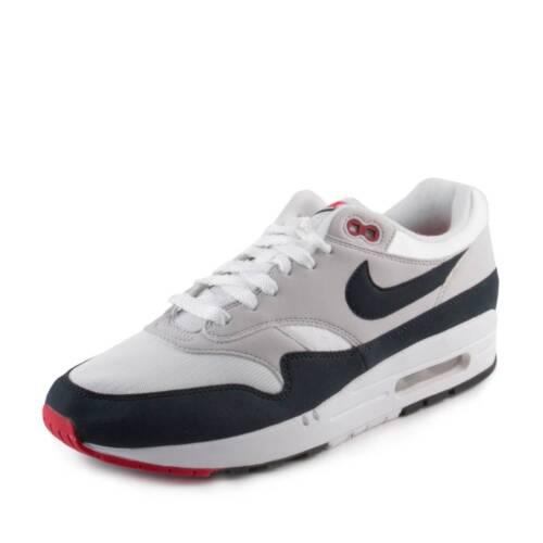 New Nike Mens Nike Air Max 1 Anniversary White/Dark Obsidian 908375-104 Size 8 887228979390 | eBay supplier