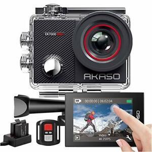 AKASO Action Cam 4K 16MP WiFi 40M Unterwasserkamera Fernbedienung