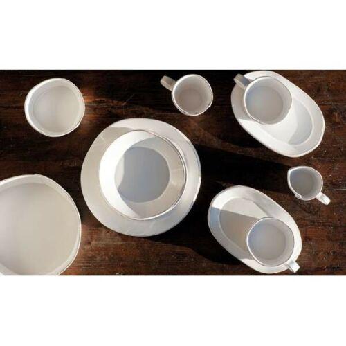 10cm creme weiß Keramik Landhausstil Virginia Casa 6er Set Dipschale LASTRA D