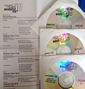 Details about RADIO SHOW: HOLLYWOOD HAMILTON TOP 30 2/3/01 EMINEM, PINK,  MYA, LUDACRIS,OUTKAST