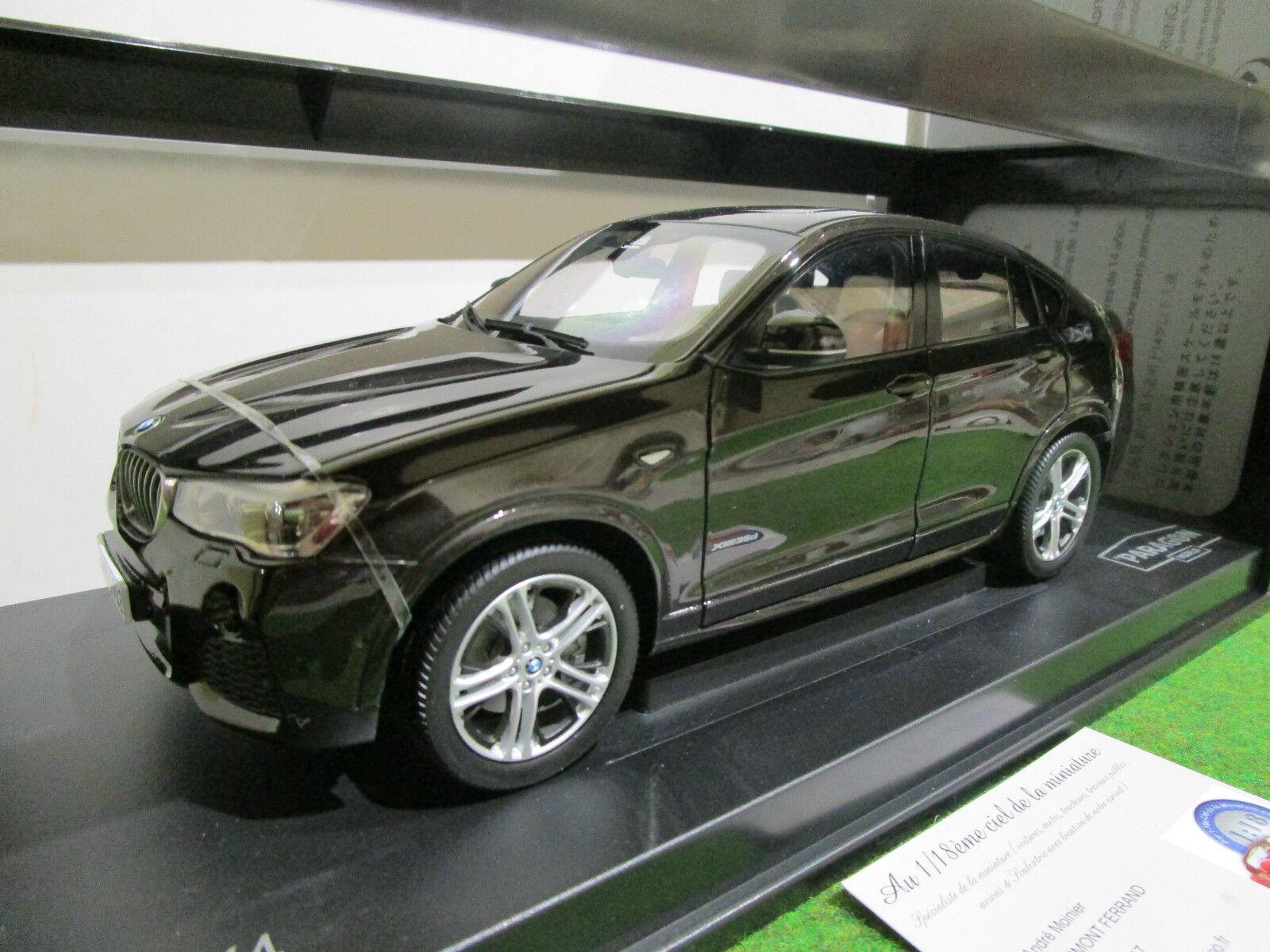 ¡No dudes! ¡Compra ahora! BMW  X4 marrón foncé au 1 1 1 18 de PARAGON PA-97091 voiture miniature de collection  moda