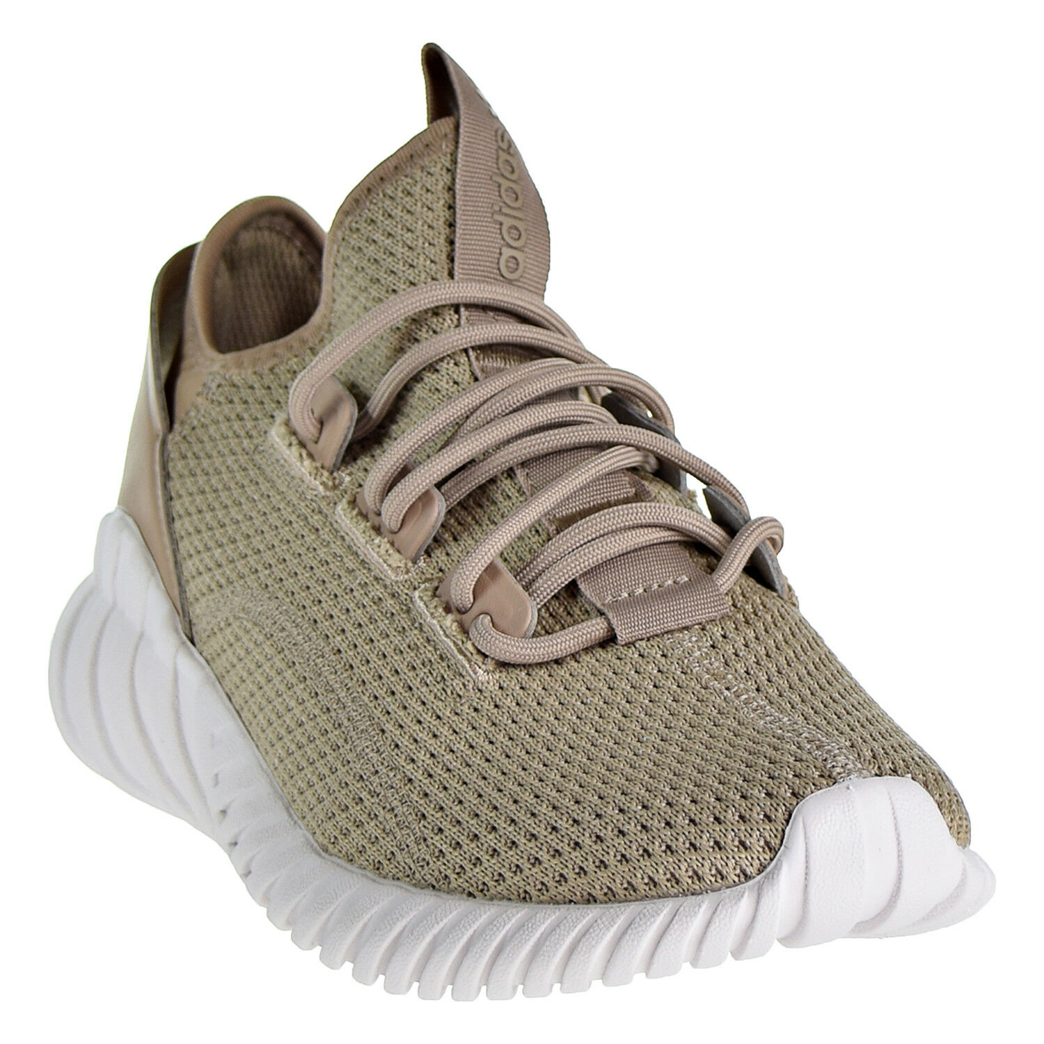 Adidas Originals Tubular Doom Sock Primeknit Boys Sneaker Shoes Tra Khaki BZ0331