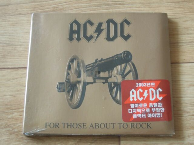 AC/ DC For Those About To Rock We Salute You KOREA CD