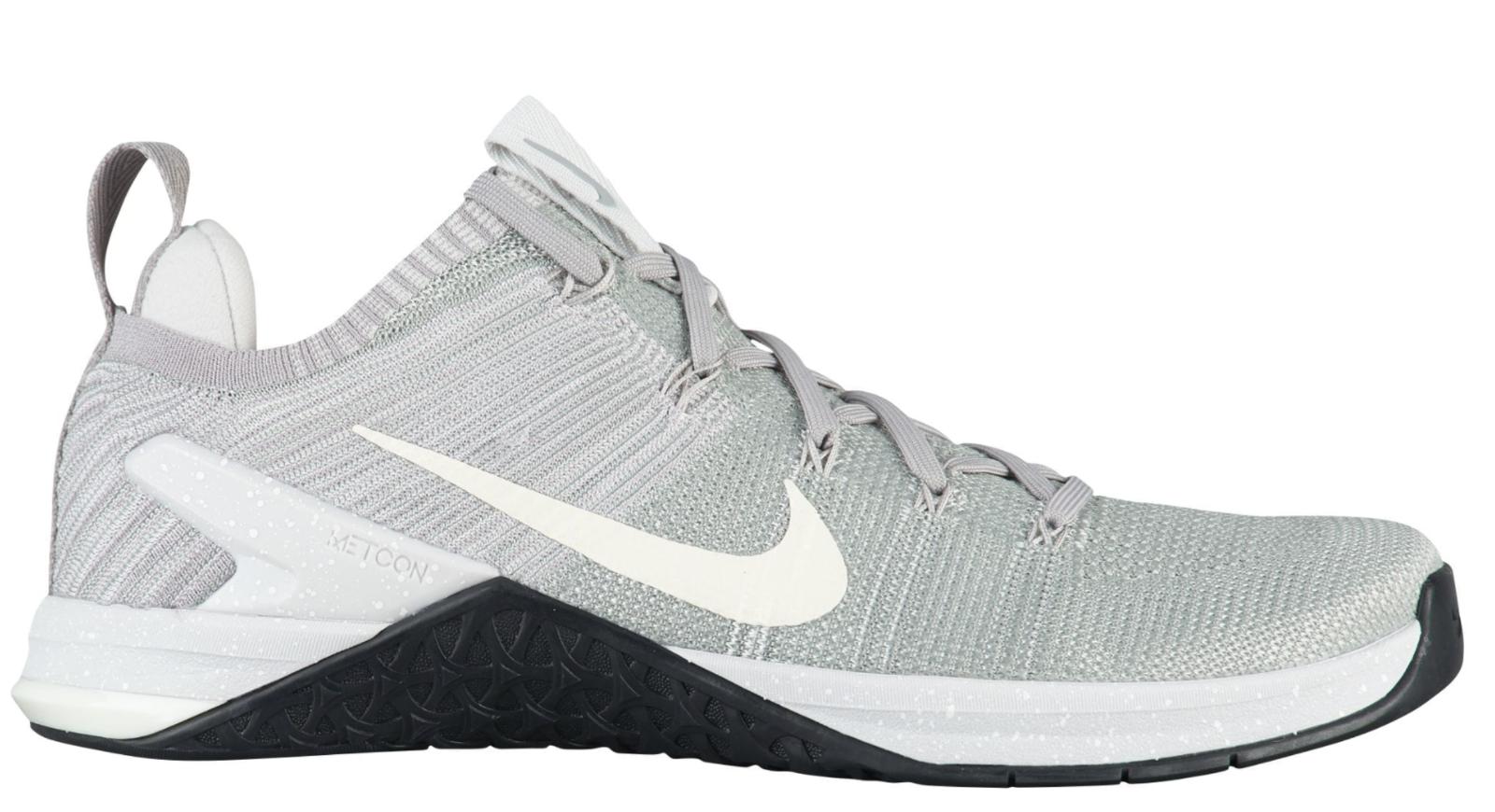 NUOVO Nike Metcon DSX Flybark 2 - Men's  Matte argento Training scarpe 924423 -011 rc1  online economico
