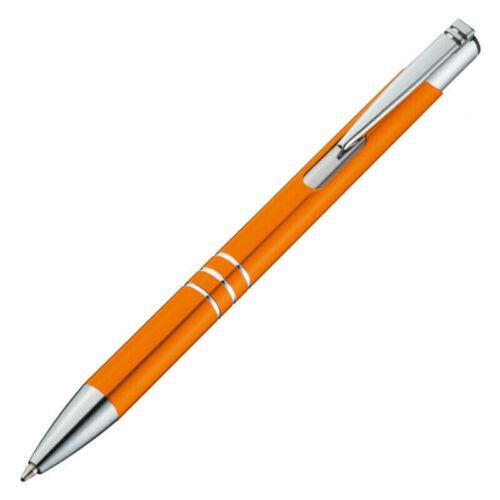 50 Stück Metall-Kugelschreiber mit Ihrer Wunschgravur Faserlaser
