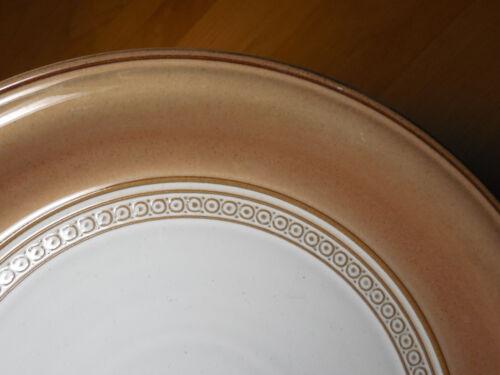 "Denby England Renaissance SEVILLE BROWN Salad Plate 9/"" 1 ea         16 available"