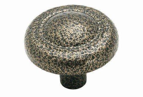 "BP53017-WN Hammered Weathered Nickel 1 1//4/"" Cabinet Knob Pull Amerock Allison"