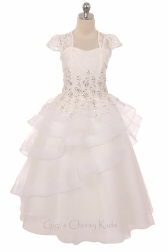 New Flower Girls Mint Green Dress Wedding Pageant Easter Birthday Party 341