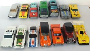 15 X Vintage Hot Wheels IMSA Nascar SUV Stutz Porsche Woody Chevy Datsun Pontiac