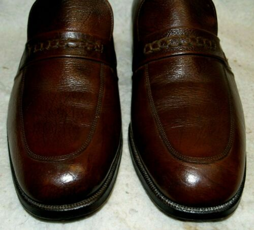 Shoes Vintage Loafer 7 cuoio Suole Florsheim in Dress D Men`s wAfOrAqt