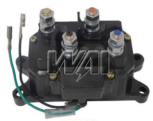atv winch contactor solenoid relay switch for warn 63070 62135 rh ebay com Ramsey Winch Wiring Diagram Ramsey Winch Wiring Diagram