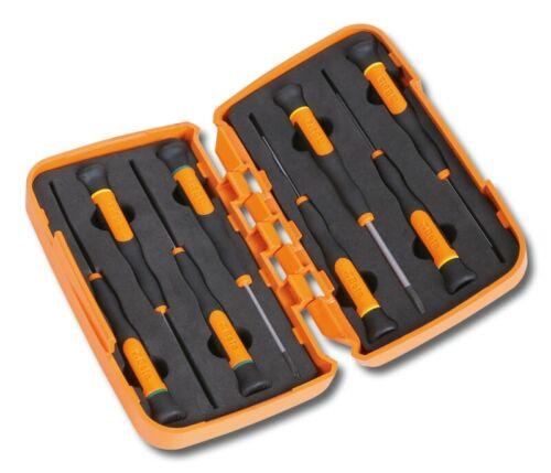 Beta Tools 1257LPH//S8 8pc Flat//Slot /& Phillips Micro-Screwdriver Set 012570210