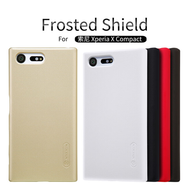 Nillkin Frosted Shield Matte Plastic Back Covers Cases For Sony Xperia X Compact