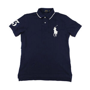 Polo Mannen shirt Lauren Logo Fit Pony Custom Ralph Big clF1KJ