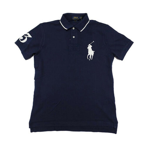 Polo Mannen shirt Lauren Logo Fit Pony Custom Ralph Big clF1KJ