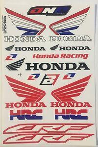 Honda HRC Stickers Decals Vinyl Wing Motorbike Car Van Racing Tank x17