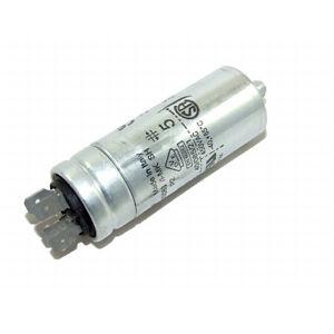 25UF 400-500V 4 TERMINALS PLASTIC ROUND RUN CAPACITOR 25µF INDUSTRIAL MOTOR