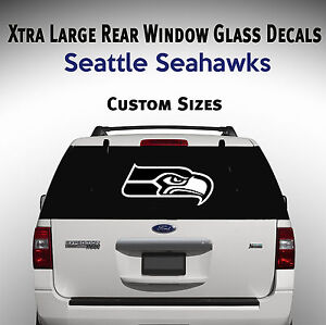 Seattle Seahawks Window Decal Graphic Sticker Car Truck Suv Van