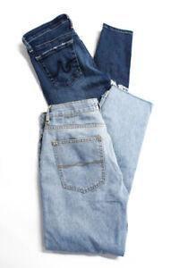 AG-Adriano-Goldschmied-Zara-Womens-Distressed-Denim-Jeans-Blue-Size-26-4-Lot-2