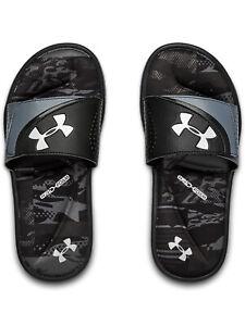 Under Armour Boys Little//Big Kid UA Locker III Athletic Slide Sandals 1287326