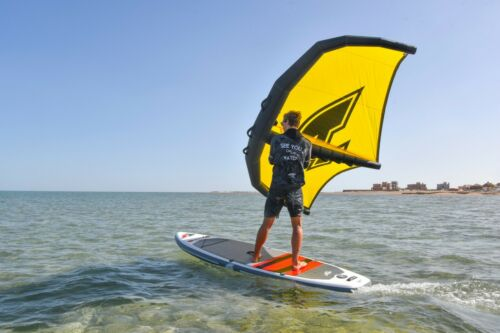 6,0 QM ~ SURF FOIL SEGEL WINGSEGEL SUP FLÜGEL ~ TESTWING F2 WING SAIL 2020 GR.
