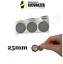 miniatuur 4 - Bollini Scratch off modello gratta e vinci adesivi a cerchio in vari colori