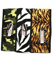 Fleece Ear-warmer Headbands - 3 Patterns To Choose From, Tiger, Zebra, Camo
