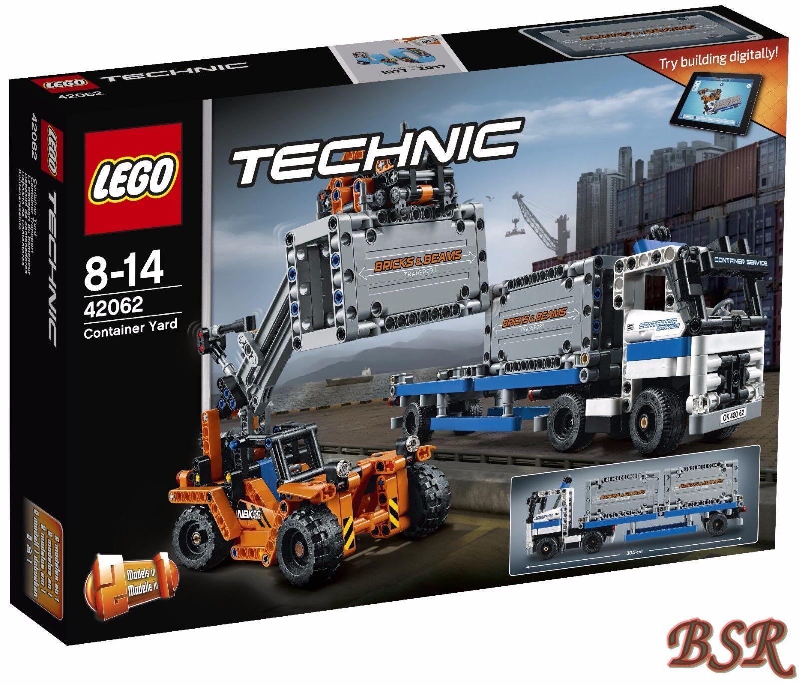 LEGO ® technologie  42062 conteneurs de transport & 0. - expédition & OVP & NOUVEAU
