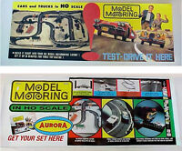 Model Motoring T-jet Hobby Shop Reproduction Poster. Your Choice.