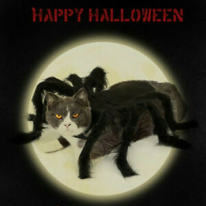 Halloween-Pet-Spider-Clothes-Party-Festival-Felt-Spider-Leg-Costumes-For-Dog-Cat