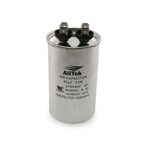 40uf MFD 370//440V HVAC Round Run Capacitor ALLTEK