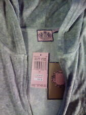 Hoodie Sweats set LADIES Juicy Couture  tops and bottoms,Rare,VINTAGE gray, med.