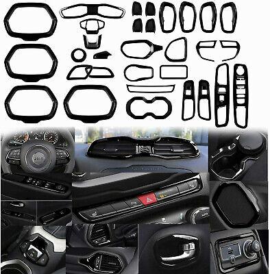 31 PCs Car Interior Accessories Decoration Trim For Jeep Renegade 2015-2020 eBay