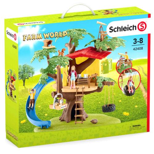 Schleich Farm World Adventure Tree House Playset NEW