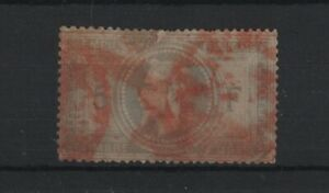 FRANCE-STAMP-TIMBRE-N-33-034-NAPOLEON-III-5F-034-CACHET-ROUGE-IMPRIMES-A-VOIR-T999
