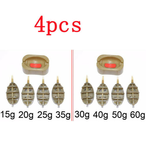 Moulds^ Method Feeder In Line Set Futterkorb Futterkörbe Feederangeln 15-60g
