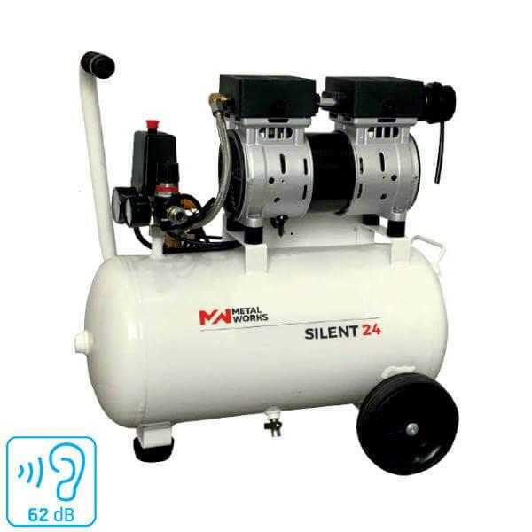 Cevik 1 Compresor silencioso 6 litros 1Hp