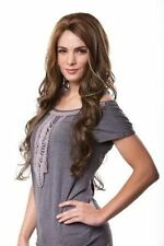 KIM Sepia Lace Front Wig Salon Style Wavy Layered Hair *UPickColor* FREE SHIP